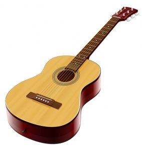 Image showing an acoustic guitar (acoustic electric)